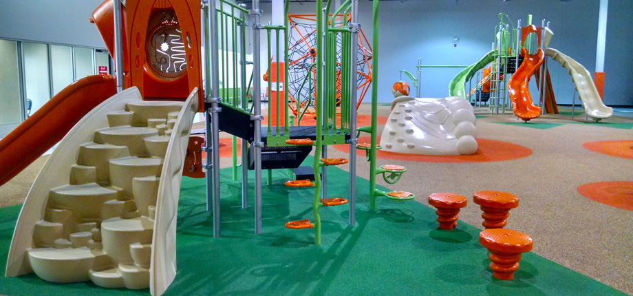 SPINTASTIC PLAYGROUND - Build self-confidence, spatial relationships, and agility